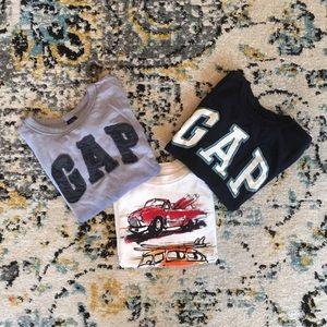3 boys GAP t-shirts size 2T